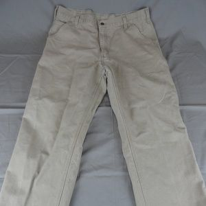 Carhartt Dungaree Fit Jeans Gray Size 38x30